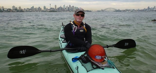 Jason Beachcroft: Attempt to Paddle Around Australia, including Tasmania