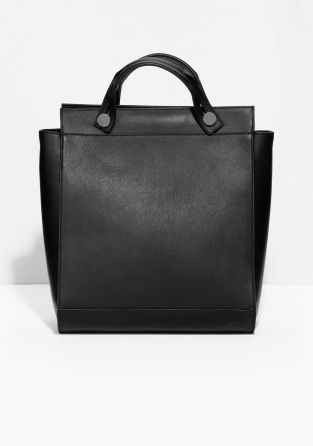 & Other Stories | Slide Handle Leather Bag