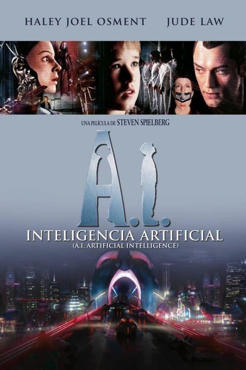 A. I. Artificial intelligence (2001) meryl streep as blue mecha.