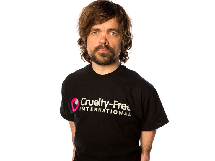 """""""Game of Thrones"""" actor Peter Dinklage joins Cruelty-Free International in calling for a U.S. ban on animal testing for cosmetics."""