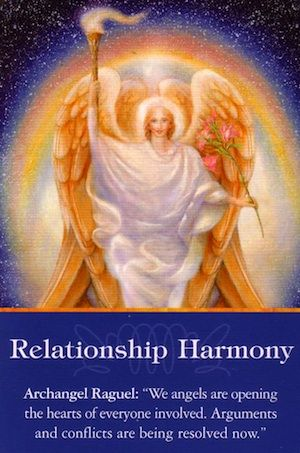 Your prayers for personal peace have been answered, and you are to be commended for your role in ushering peace into this situation. Visualize everyone involved (including yourself) being co-operative and open-minded,