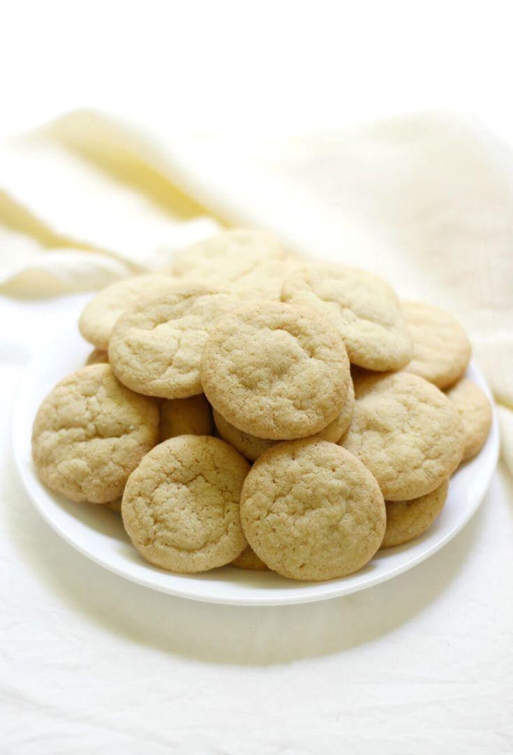 Homemade vanilla wafers copycat nilla wafers gluten