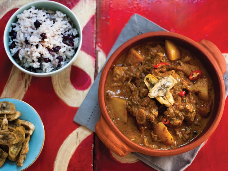 Crush 31  /  Jamaican Goat Curry  /  #curry #winterfood