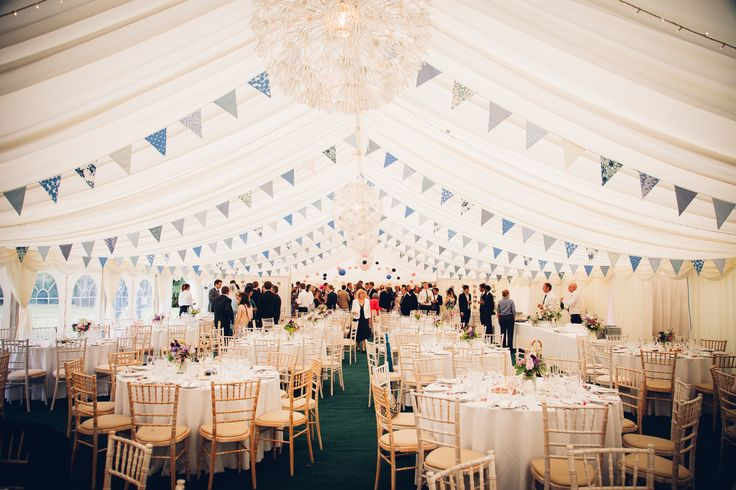 Marquee and bunting