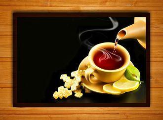 """Багетная фотокартина """"Чайная церемония"""""""