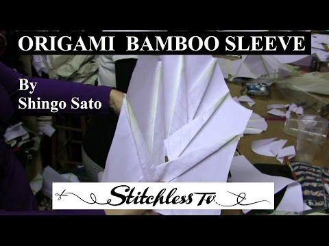 Origami Bamboo Sleeve - YouTube