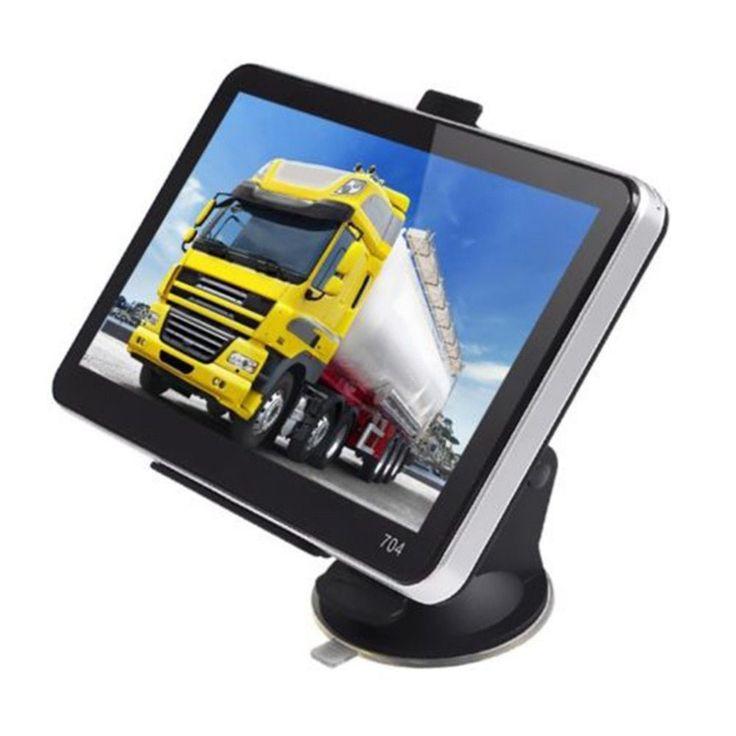 7 Inch 800*480 TFT Protable LCD Display GPS Car Styling Truck Vehicle Portable GPS Navigation Navigator SAT NAV 4GB US Map //Price: $56.30//     #electonics