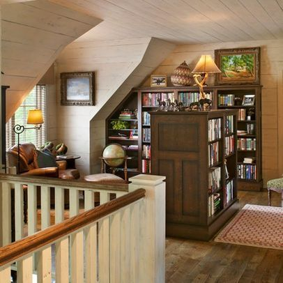 17 Gorgeous Attic Libraries You Have To See To Believe. Home Office DesignOffice  ...