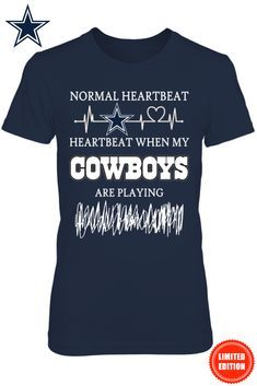 **Dallas Cowboys Fans** Officially Licensed Exclusive Design T-Shirt. Available For A limited Time Only! Get Yours Today => https://www.fanprint.com/cowboys-670?ref=2174&style=34