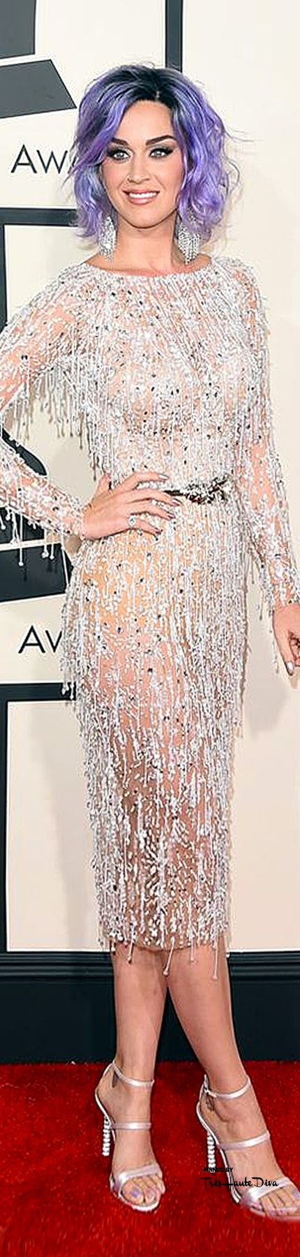 #Katy #Perry in Zuhair Murad Haute Couture at the 57th Annual #Grammy Awards 2015 ♔THD♔