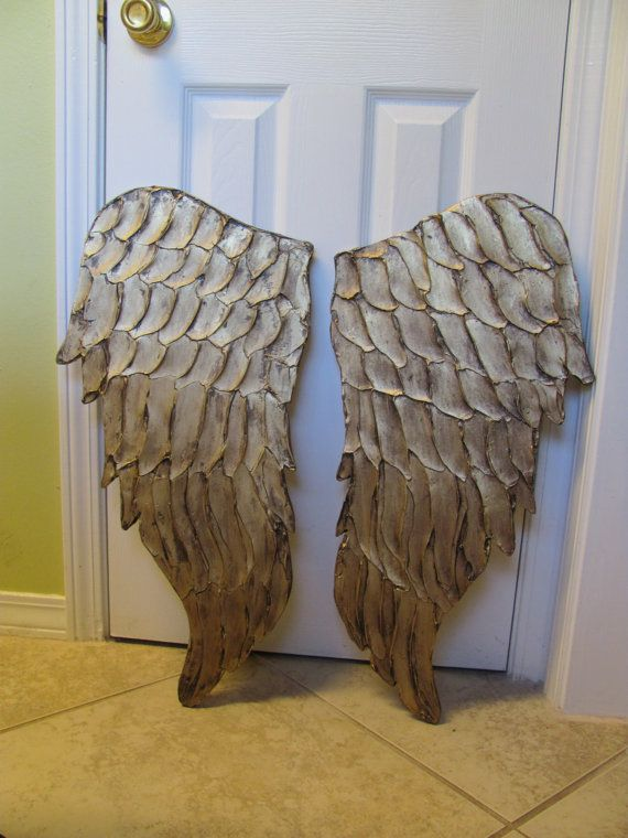Wooden Angel Wings Wall Decor 41 best angels images on pinterest | angel wings, sculptures and