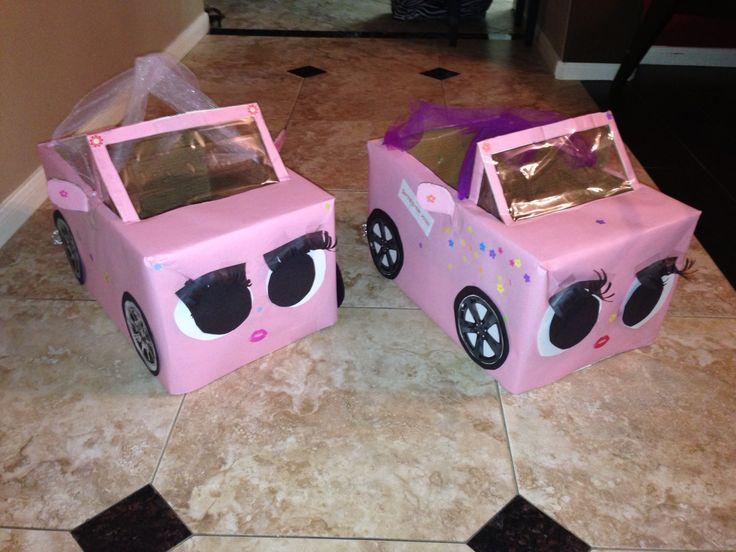 Box car from a xerox box