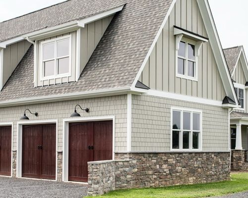 Hardie Plank Monterey Taupe Home Design Ideas, Pictures, Remodel and Decor