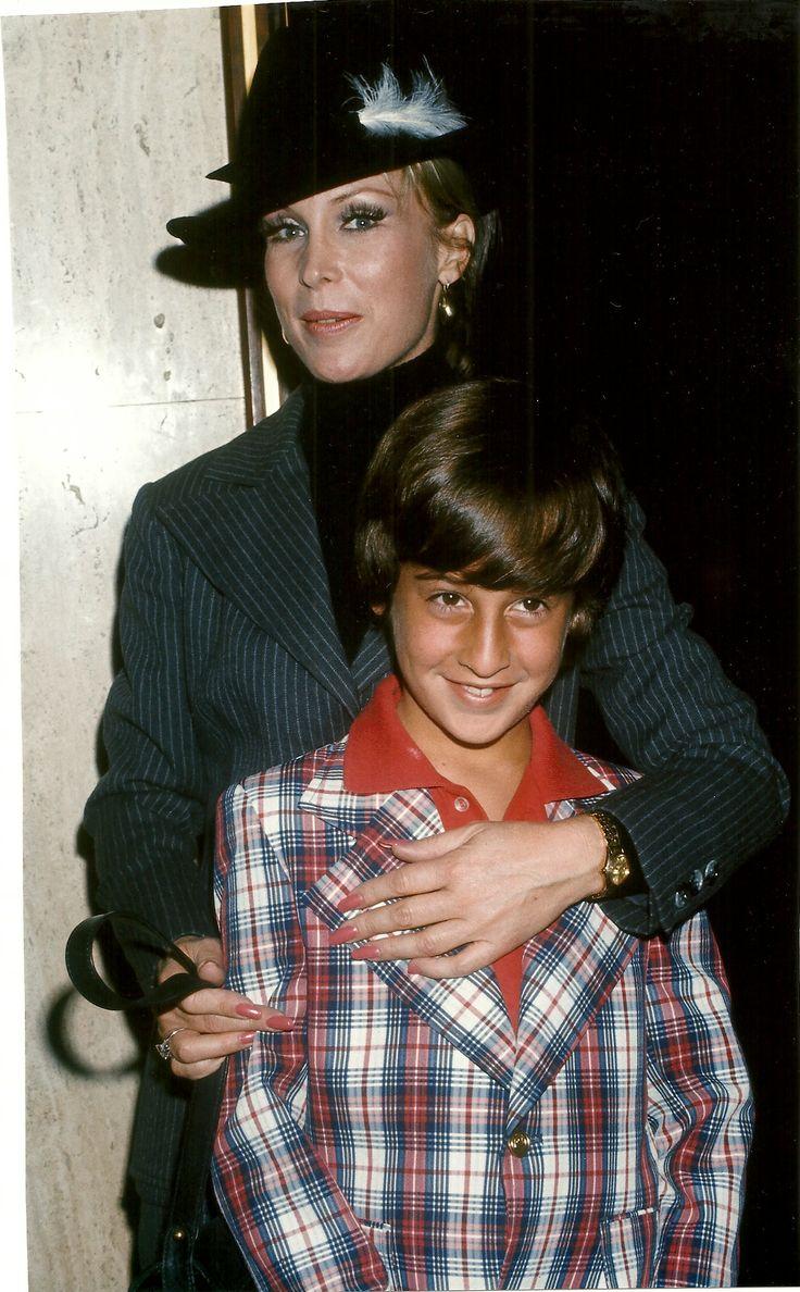 Barbara Eden with son, Matthew.