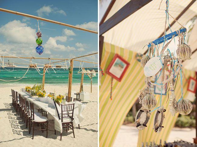 Vintage Nautical Chic Beach Wedding | Green Wedding Shoes Wedding Blog | Wedding Trends for Stylish + Creative Brides