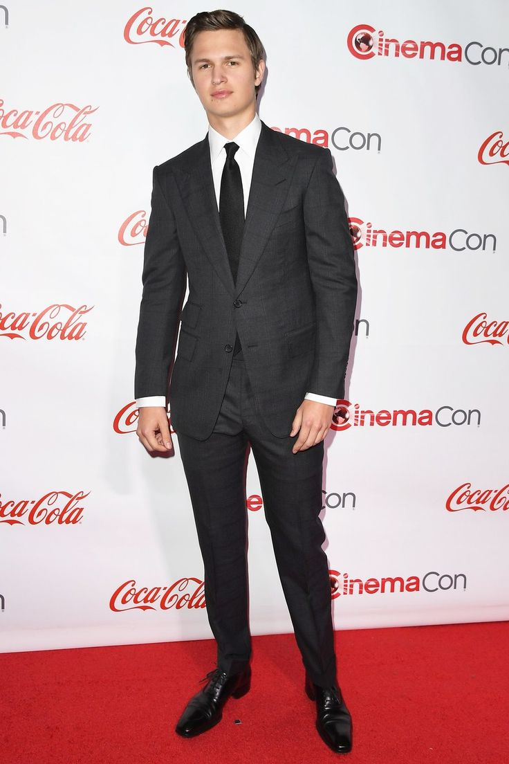 WHAT: Tom Ford WHERE: At the CinemaCon Big Screen Achievement Awards in Las Vegas WHEN: March 30, 2017 WHY: We can't remember the last time Elgort looked this sharp. Chalk it up to the Tom Ford Effect once again.