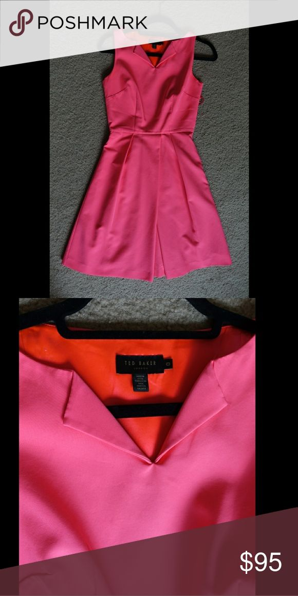 Ted Baker Pink Dress Simple pink dress amazing fit Ted Baker Dresses
