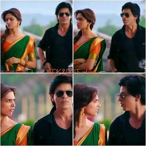 Shahrukh Khan - Deepika - Chennai Express