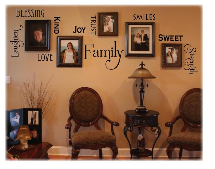 Love this photo arrangement