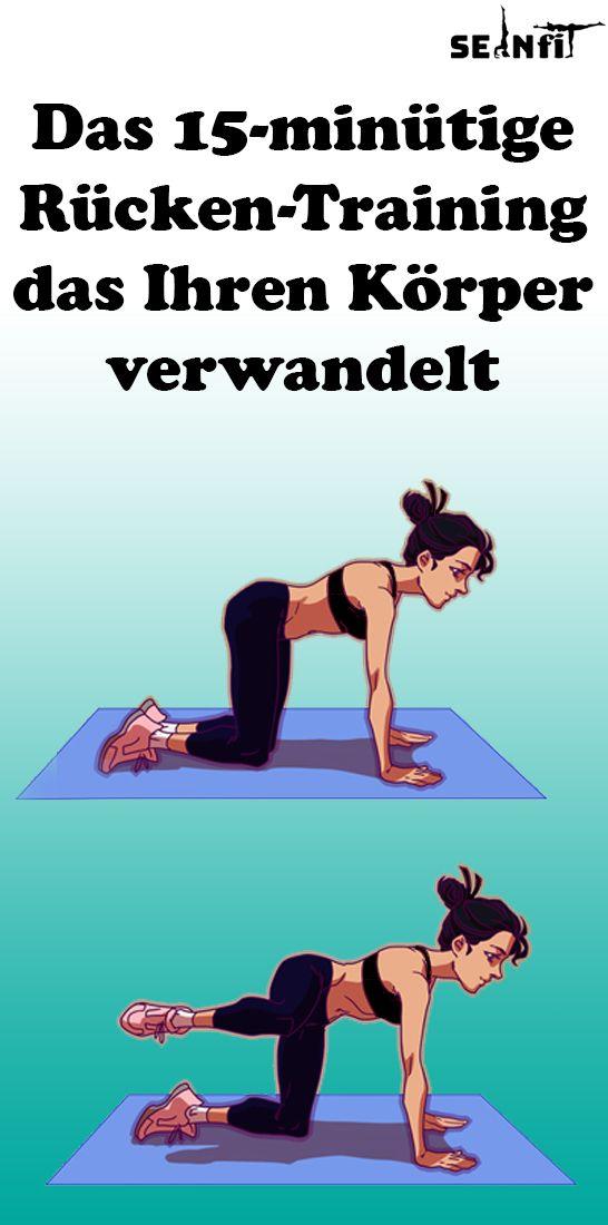 Das 15-minütige Rücken-Training, das Ihren Körper verwandelt – Faszien Yoga