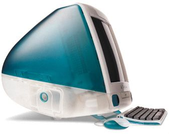 The revolutionary iMac - in gorgeous color - I used to have one of these - loved it :)