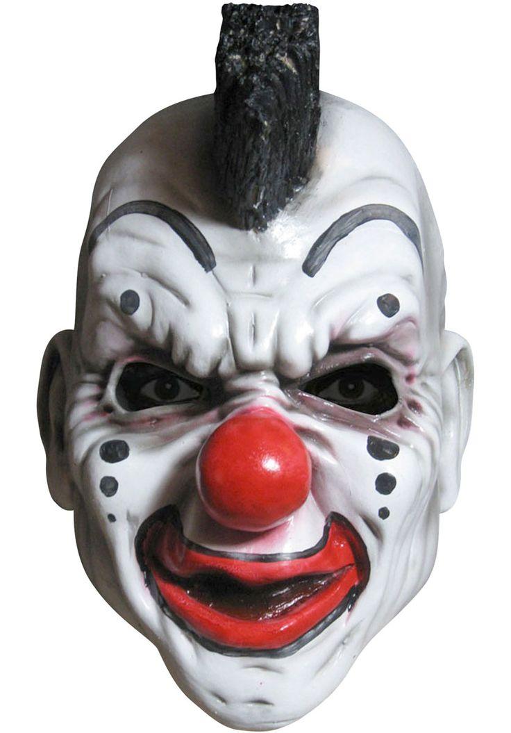 Slipknot Clown Mask - Mohawk Style - Slipknot Masks at Escapade™ UK - Escapade Fancy Dress on Twitter: @Escapade_UK