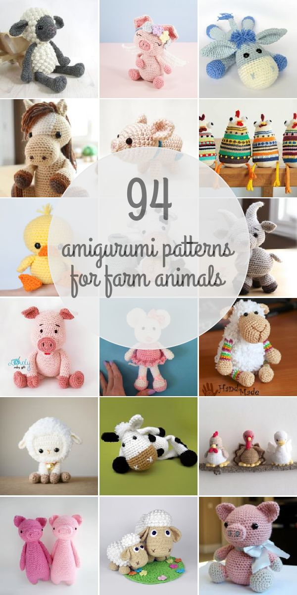 Amigurumi Patterns For Farm Animals