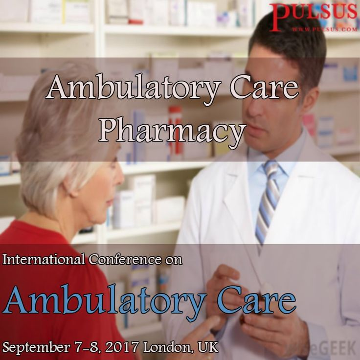 #Ambulatory Care Pharmacy discourses the provision of integrated, #reachable healthcare services for #ambulatory patients in an extensive variety of settings, comprising community #pharmacies, #clinics and #physician offices. This is accomplished through direct #patient care and #medication management for #ambulatory patients. #Ambulatory care #pharmacy is honestly #new focus for #pharmacists.