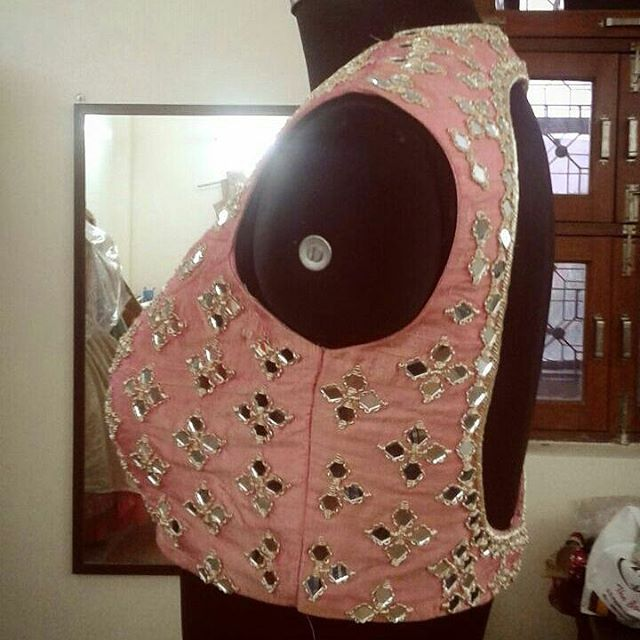17+ Best Ideas About Mirror Work On Pinterest | Blouse Designs Hand Embroidery Stitches And ...