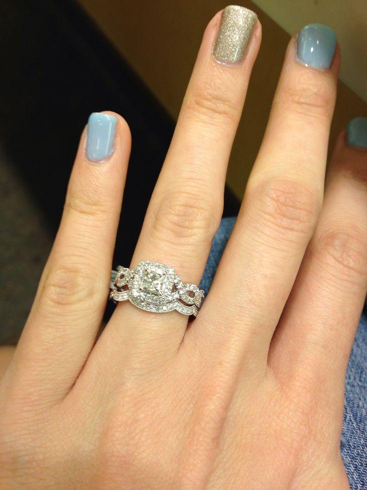 My bridal set :) Neil Lane Diamond at Kay Jewelers