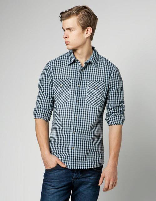 desenlı Yeni Sezon Erkek Gömlek Modelleri