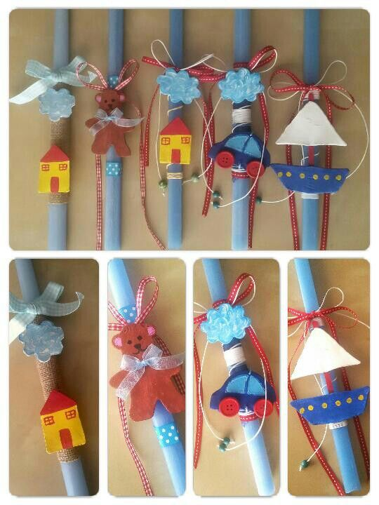 Easter Candles by Stella Handcrafts! | Πασχαλινές Λαμπάδες