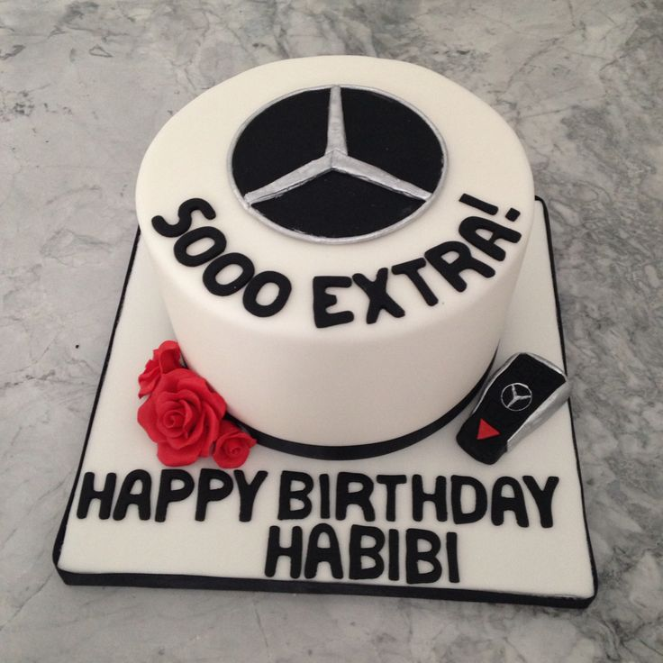 146 best custom cakes images on pinterest for Mercedes benz birthday cake