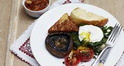 comida rápida para llevar y un café.  Recipease #jamieoliver #london  http://www.jamieoliver.com/recipease/#