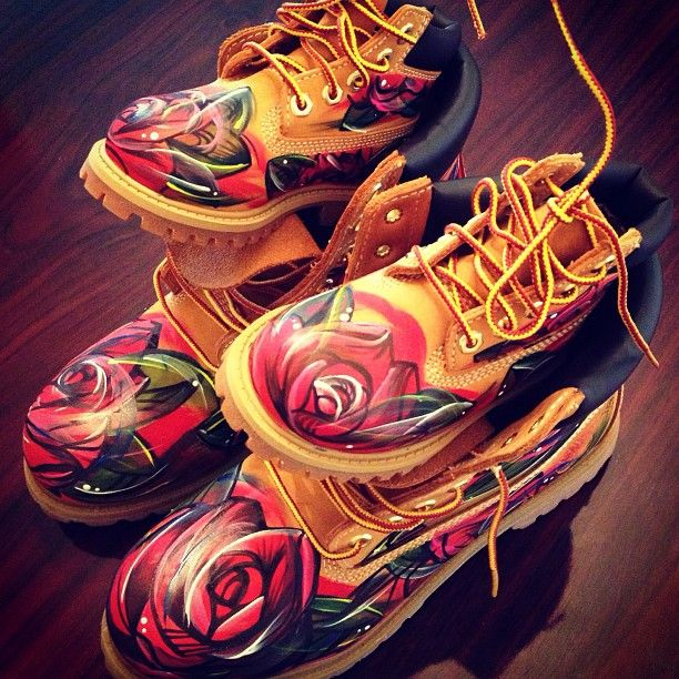 Custom Timbs sneakerheads Only Pinterest