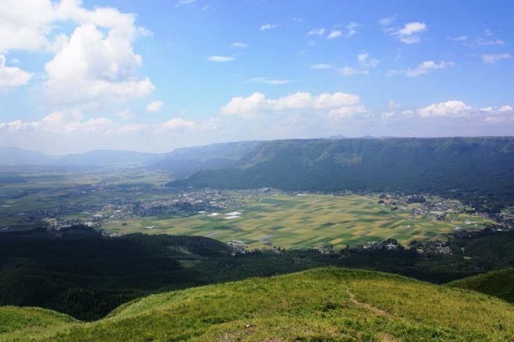 阿蘇 大観峰  Daikanbo in Aso (View point)