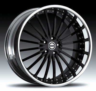 Staggered Chrome Wheels for Trucks, by: MOZ
