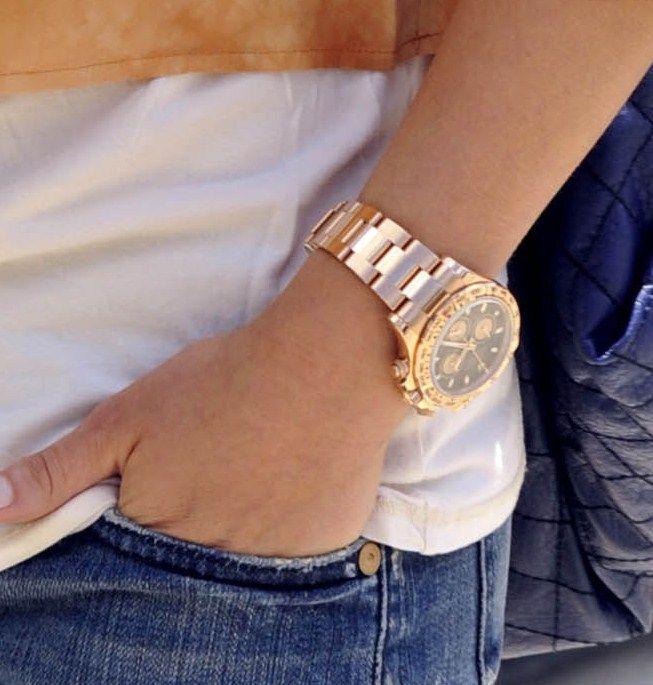 RG DaytonaRg Daytona Repin, Daytona Repin By Pinterest, Jazzy Jewels, Vintage Rolex, Women Watches, Clocks Clocks, Gold Watches, Classic Style