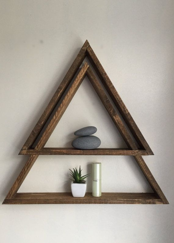 Mountain Altar Shelf with moon phases or snow caps   Etsy