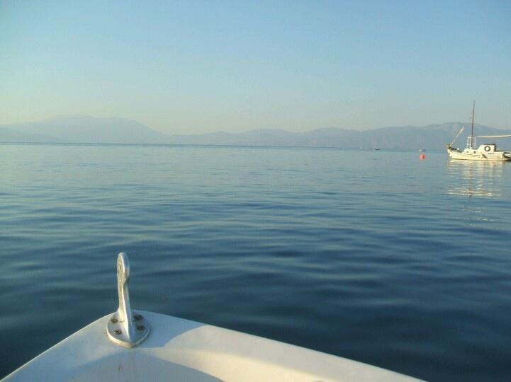 going fishing , greece