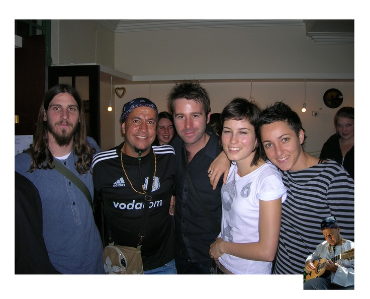 Nibs and friends with Missy Higgins