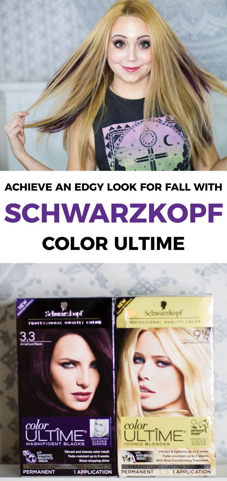 Achieve an edgy look this fall with @SchwarzkopfUSA Color Ultime (avail. at @Walmart)! #FashionColorExpert #ad