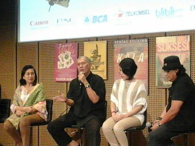 N. Riantiarno Pantang Menyerah Membesarkan Teater Koma