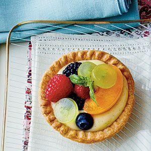 Vanilla Buttermilk Tarts and other recipe's for garden tea party/luncheon ideas ;-)!