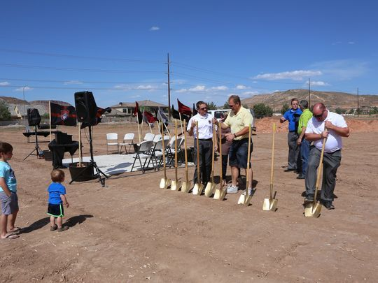 St. George Academy breaks ground in Washington City #StGeorge...: St. George Academy breaks ground in Washington… #StGeorge #StGeorgeSDay