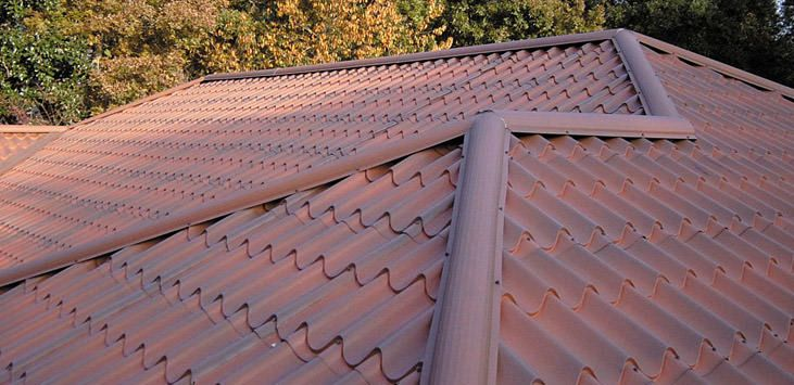 24 Best Metal Roofs That Looks Like Spanish Tiles Images