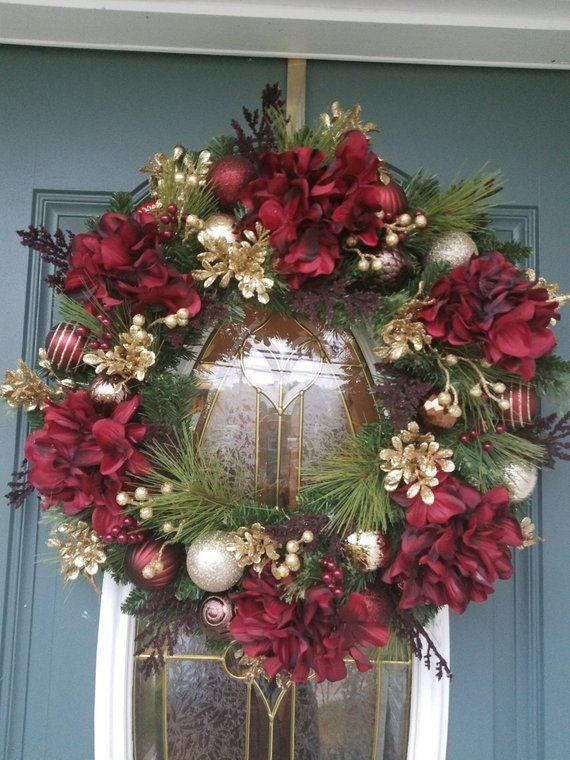 17+ Holiday wreaths for front door ideas in 2021
