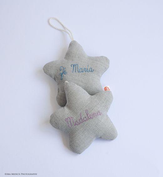Mini Dream Stars em linho crú_Zé Maria e Madalena