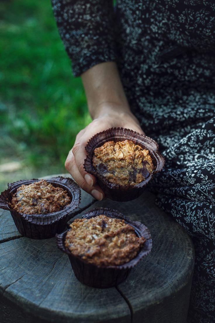 Emmas kokosmuffins med chokolade og mandler - Stinna