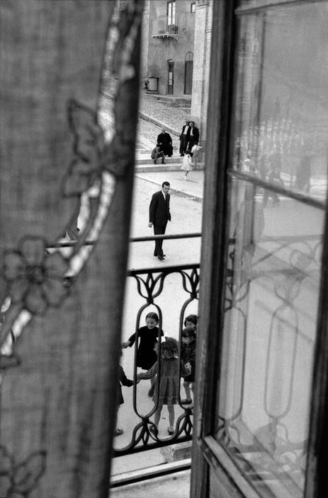 Sergio Larrain  Sicily. District of Palermo. Region of Villalba